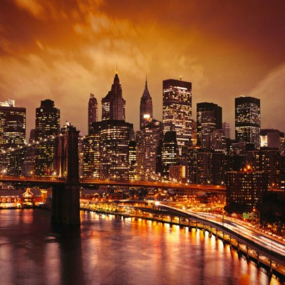 Фотообои Бруклинский мост DECOCODE 41-0024-WV (400х280см)