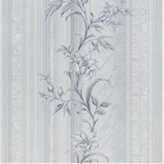 Обои виниловые на бумажной основе Мелисса Декор MV 0104-2 серые 0,53*10 м