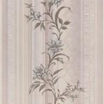 Обои виниловые на бумажной основе Мелисса Декор MV 0104-5 бежевые 0,53*10 м