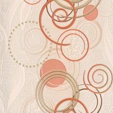 Обои виниловые на бумажной основе Спираль 793857-05 0,53*10 м