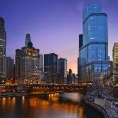 Фотообои Огни Чикаго DECOCODE 31-0003-WL (300х280см)