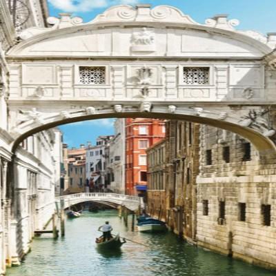Декоративное панно Венецианский канал DECOCODE 11-0166-YE (100х280см)