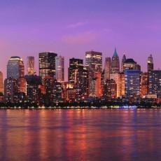 Декоративное панно Сумеречный Нью-Йорк Decocode 31-0101-WV