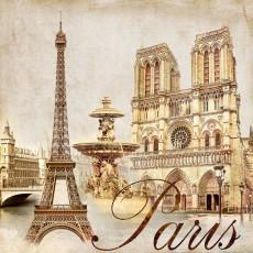 Декоративное панно VIP Жемчужины Парижа 294х260 (12л)