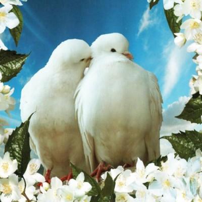 Декоративное панно Любовь и верность 134х98  (2 листа)