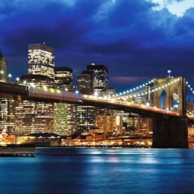 Декоративное панно  Мосты 392х260 (16 листов) VIP