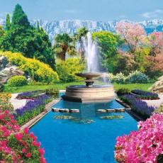 Декоративное панно Сад Шахерезады 294х201  (9 листов)