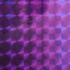 Пленка самоклеящаяся HONGDA 1009 Сиреневая Голография 0,45х8м