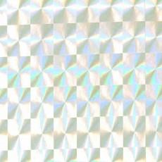 Пленка самоклеящаяся HONGDA Серебро голография 0,45х8м