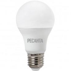 Лампа светодиодная LL-R-A65-15W-230-4K-E27 (груша, 15Вт, нейтральный свет Е27) Ресанта 76/1/20
