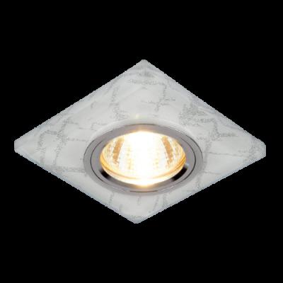 Светильник встраиваемый 611 MR16 серебро/хром