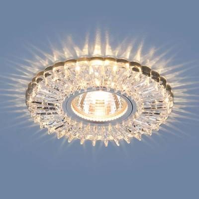 Светильник встраиваемый 2204 MR16  CL прозрачный (5 лет гарантия)