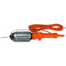 Светильник-переноска LUX ПР-60-05 оранжевый 5 м 60W Е27 металлический кожух (без лампы)