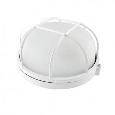 Светильник TDM НПБ1302 белый/круг с решеткой 60Вт IP54