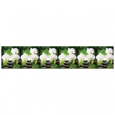 Кухонный фартук АБС Белая Орхидея 2000х600 мм