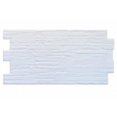 Панель ПВХ Кварцит белый 500х980 мм