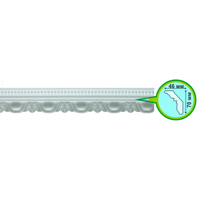 Плинтус потолочный 8022 УЮТ 2 м