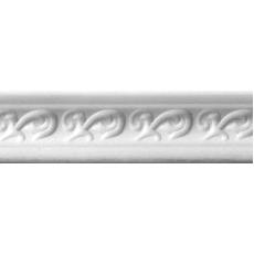 Плинтус потолочный 011 БЕЛЫЙ Антарес 1м