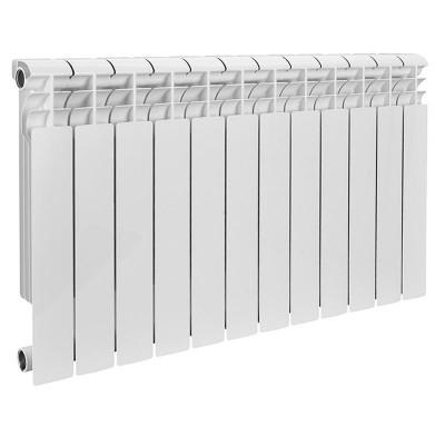 Радиатор алюминиевый ROMMER Profi 350 (AL350-80-80-080) 12 секций (RAL9016)