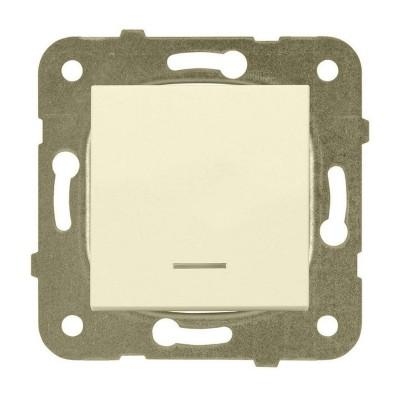 Механизм переключателя 1-клавишный, с подсветкой 220V 10А Panasonic Karre Plus WKTT00022BG