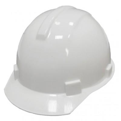 Каска строительная белая RUS 12200