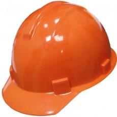 Каска строительная оранжевая RUS 12201