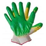 Перчатки хлопчатобумажные  Двойной облив