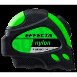 """Рулетка 5м*25мм """"EFFECTA"""" Nylon (автостоп, 2 магнита, боковые зацепы)"""