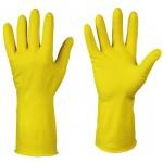 Перчатки резиновые желтые VETTA M 447-005
