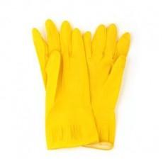 Перчатки резиновые желтые S, 447-004 VETTA