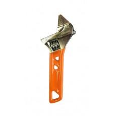 Разводной ключ 120 мм, зев 24мм, СУПЕРТОНКИЕ ГУБКИ, обливная рукоятка STURM