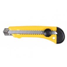 Нож технический 18мм, усиленный, с вращающимся прижимом IN WORK