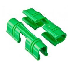 Зажим для укрепления пленки пластиковый , диаметр 12 мм, 20 шт.