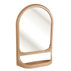 Зеркало с полкой (бежевый)