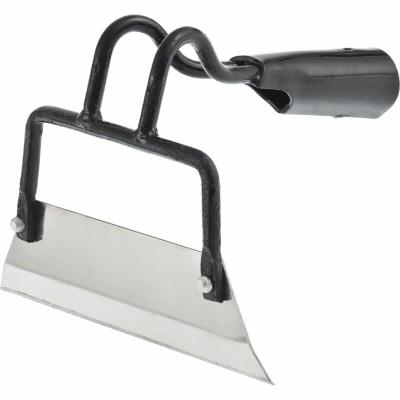 Тяпка-мотыга 200 мм нержавеющая сталь бело-черная (Судогодское)