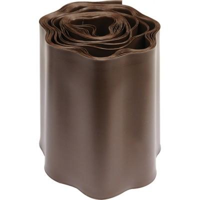 Лента для газонов БОРДЮР, 20 см-9 м (коричневый)