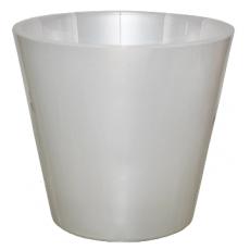 Горшок для цветов Фиджи Орхид D 160 мм/1,6 л белый перламутр