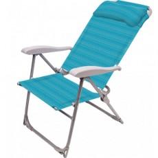 Кресло-шезлонг складное К2/Б (бирюзовый)