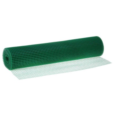 Сетка пластиковая от птиц и для птичников Урожайная сотка 13х15 (1х10 м) Зеленый купить в интернет-магазине RemontDoma