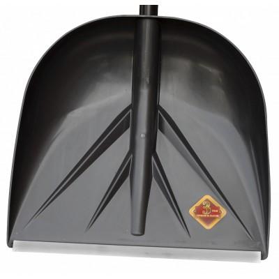 """Ковш для снеговой лопаты PROTEX """"САНТА"""" 420х400 (черный)"""
