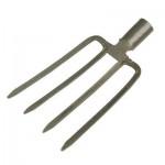 Вилы копальные 4-х зубые рельсовая сталь Урожайная сотка без черенка F103