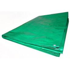 Тент из п/э ткани зеленый ТЗ-120 3м*6м