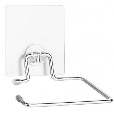 """Держатель для туалетной бумаги без крышки на силиконовом креплении """"Kleber lite"""" KLE-LT016"""
