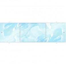 Экран под ванну ПРЕМИУМ А 1,68 м (Голубой)