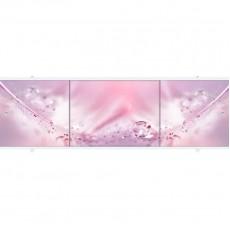 Экран под ванну ПРЕМИУМ А 1,68 м (Розовый)