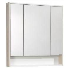 Зеркальный шкаф AQUA-TON  Рико 80 Белый/Ясень фабрик 1A215302RIB90