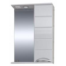 """Зеркальный шкаф """"Родос-60"""" правый, свет"""