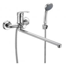 Смеситель для ванны с длинным изливом, Simp, Milardo, SIMSB02M10