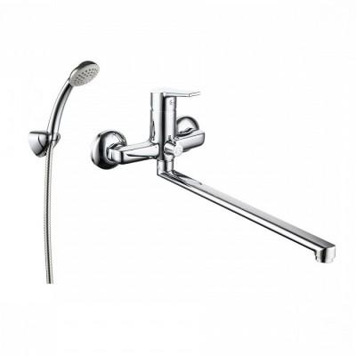 Смеситель для ванны с длинным изливом Milardo Stripe STRSB02M10