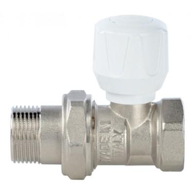 Клапан ручной терморегулирующий, прямой 3/4 STOUT